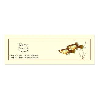 Platy Profile Card Business Cards