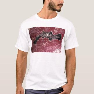 Platypus Dreaming Red by Mundara Koorang T-Shirt