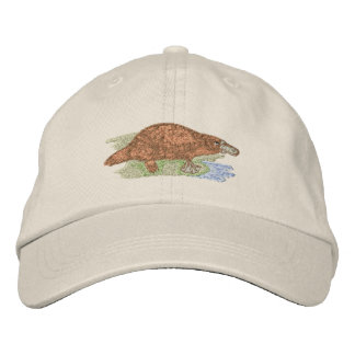 Platypus Embroidered Baseball Caps