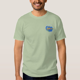 Platypus Embroidered T-Shirt