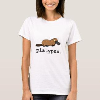 Platypus Light Colors T-Shirt