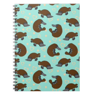 Platypus Love Notebook