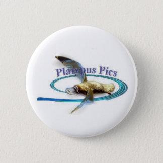 Platypus Pictures 6 Cm Round Badge