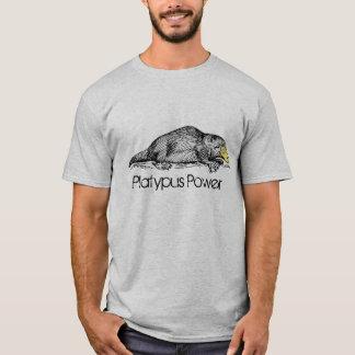 Platypus Power Australian Monotreme Individuality T-Shirt