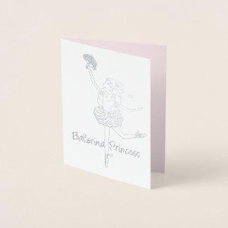 Platypus stylized animal art gold card