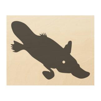 Platypus wall art