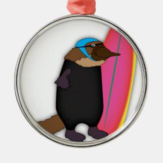 Platypus Wetsuit Christmas Ornament