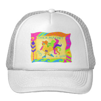 Play A Little Chick Magnet Hat