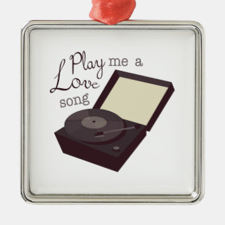 Play A Love Song Christmas Ornament