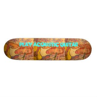 Play Acoustic Guitar Skate Decks