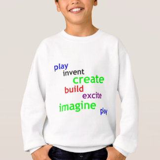 play and invent sweatshirt