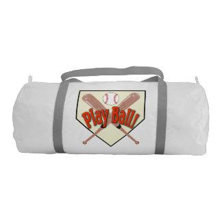 Play Ball! Duffle Bag Gym Duffel Bag