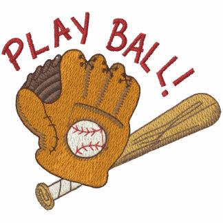 Play Ball Hoodies