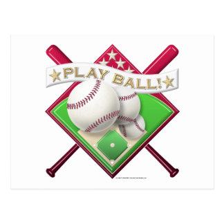Play Ball! Postcard