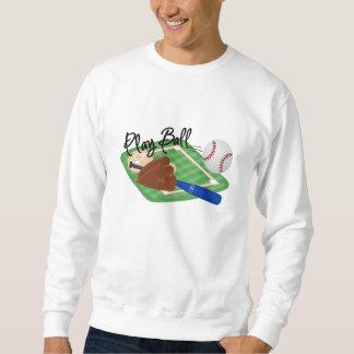 Play Ball Pull Over Sweatshirt