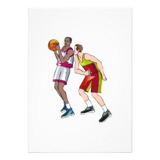 Play basketball personalized announcement