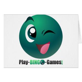 Play Bingo Games Logo & Mascot Card