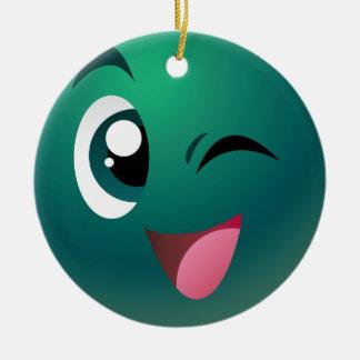 Play Bingo Games Mascot Christmas Ornament