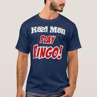 "Play Bingo! theme ""Real Men"" T-Shirt"