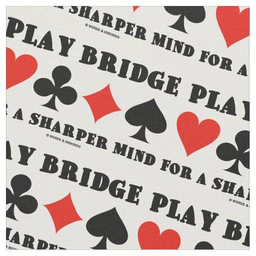 Play Bridge For A Sharper Mind Four Card