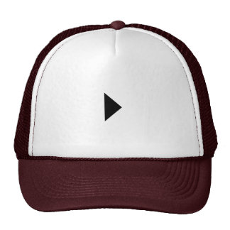 play button hat