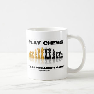 Play Chess It's An Intelligent Game Mugs