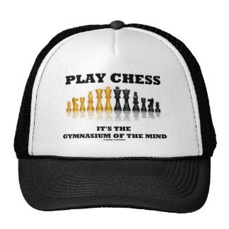 Play Chess It's The Gymnasium Of The Mind Cap
