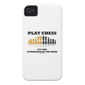 Play Chess It's The Gymnasium Of The Mind Case-Mate iPhone 4 Cases