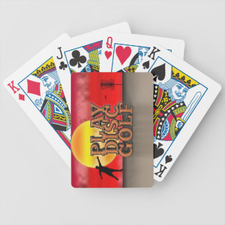 Play Disc Golf Bicycle Playing Cards