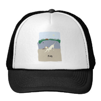 Play Dog - Paw of Attraction Trucker Hat