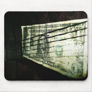 """Play for a dollar"" mousepad"