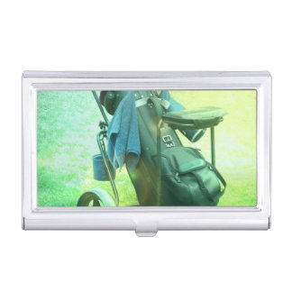 Play Golf Case For Business Cards