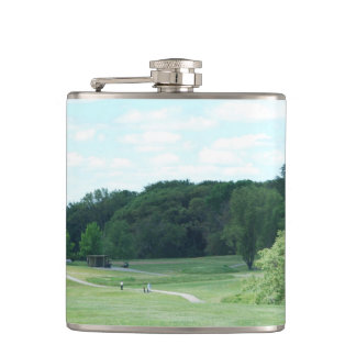 Play Golf Hip Flask