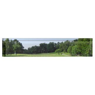Play Golf Name Plate