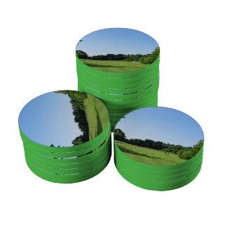 Play Golf Poker Chips Set