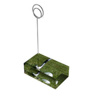 Play Golf Table Card Holders