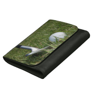 Play Golf Leather Wallet