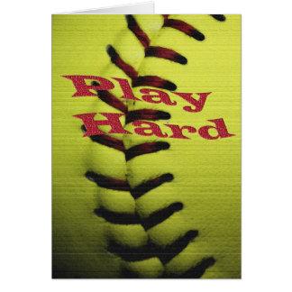 Play Har Softball Card