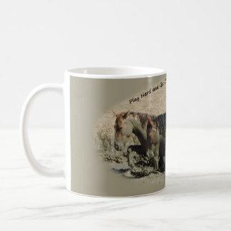Play Hard and Get Dirty Sand Wash Basin Coffee Mug