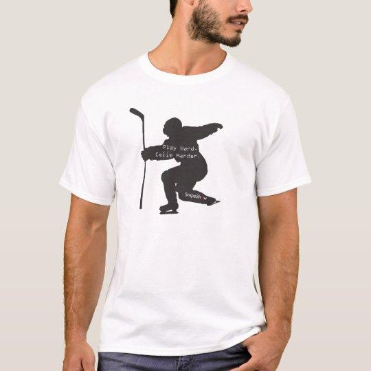 Play Hard. Celie Harder. T-Shirt