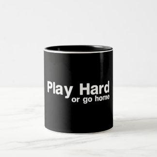 Play Hard or Go Home Two-Tone Mug