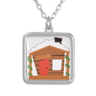 Play House Square Pendant Necklace