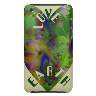Play In Paint LOVE EARTH Barely There iPod Cover