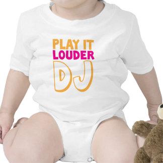 PLAY it LOUDER DJ Tee Shirt