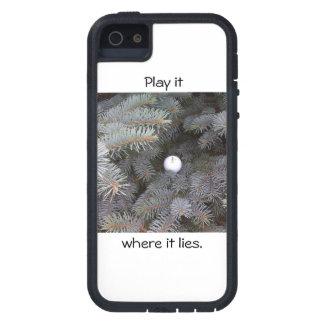 Play it where it lies iphone case tough xtreme iPhone 5 case