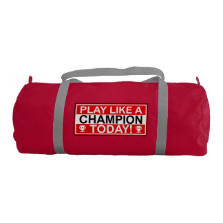 Play Like A Champion Gym Duffel Bag