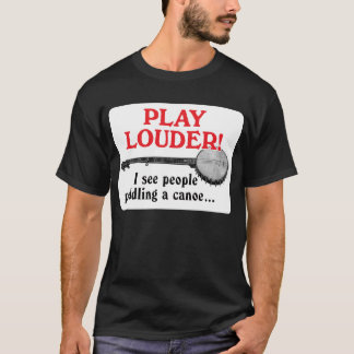 Play Louder Men's darl short sleeve T-Shirt