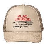 Play Louder Trucker Hat