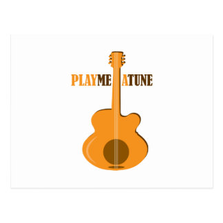 Play Me A Tune Post Card
