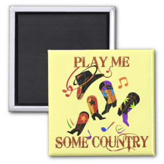 PLAY ME SOME COUNTRY MAGNET
